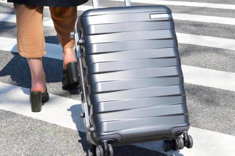 Zipperless Luggage