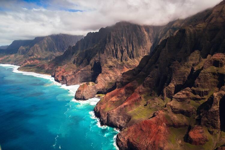 Kalalau Trail, Na Pali Coast, Hawaii, USA