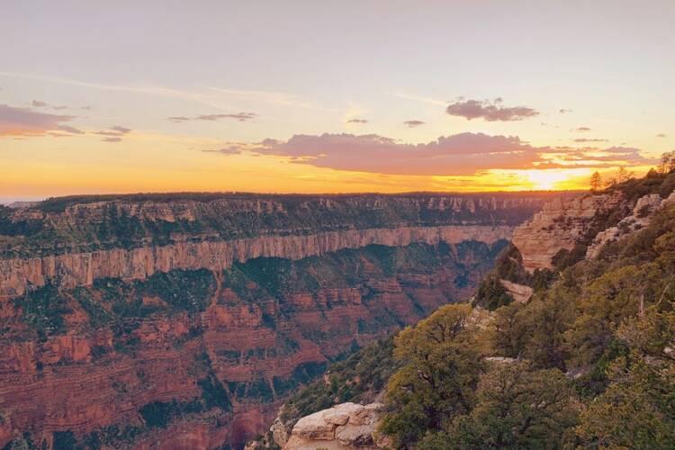 Rim To Rim, Grand Canyon National Park, Arizona, Usa