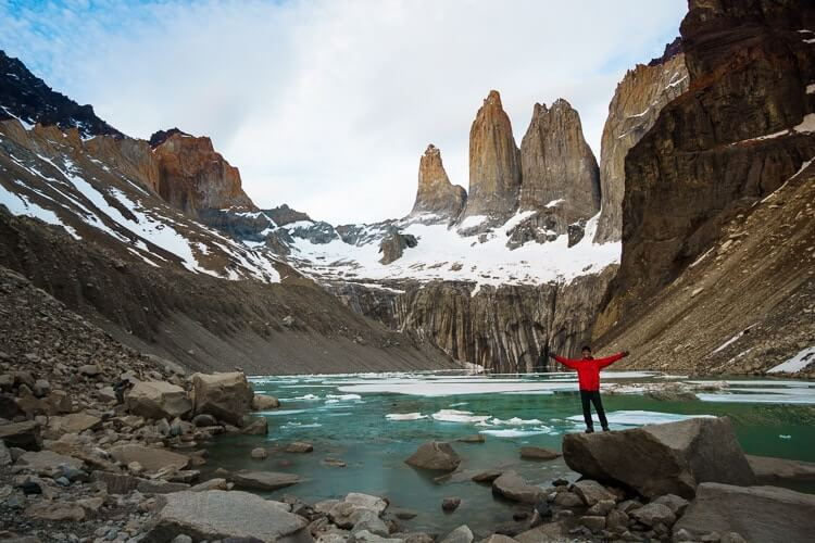 """Torres Del Paine's """"O"""" Circuit, Chile, South America"""