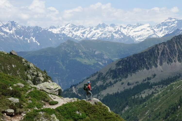 Walker's Haute Route, French And Swiss Alps